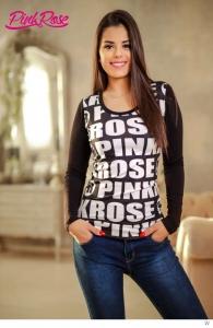 1555A Basic Felső PINK ROSE