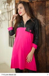 7110 Pink -Fekete bőr BEBE/2Be