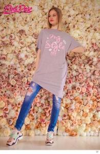 1611A Tunika Pink Rose