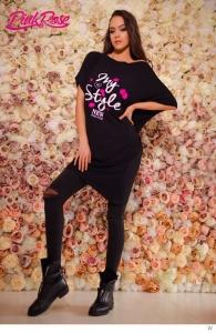 1607A Tunika Pink Rose
