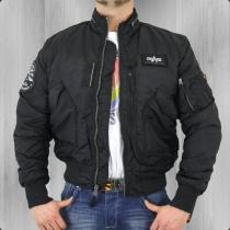 103101/03 black kabát Alpha Industries