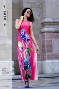 2740 Pink- virágos BEBE/2BE