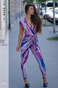 3596 Pink-csíkos BEBE/2BE