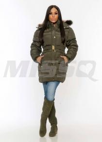 M1115 Emőke kabát valódi szőrrel Missq