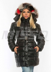 M1118 Emőke kabát valódi szőrrel Missq