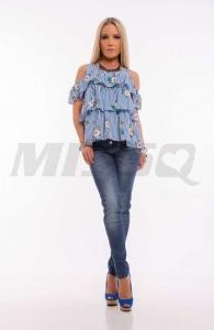 M1202 Latte Blúz Missq
