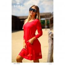 5501 piros ruha Bebe2be