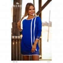 7001 kék ruha BEBE/2BE
