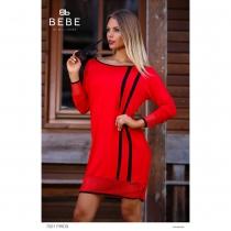 7001A piros ruha BEBE/2BE