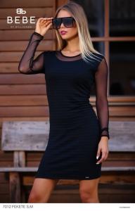 7012A fekete ruha BEBE/2BE