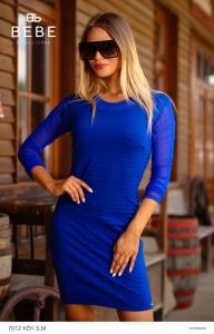 7012A kék ruha BEBE/2BE