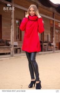 8541 Piros Kabát BEBE/2BE