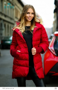 1001 Piros Kabát BEBE/2BE