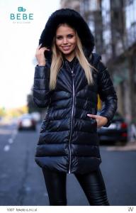 1007 Fekete Kabát BEBE/2BE
