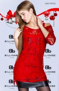 A2582 Piros ruha bebe/2be