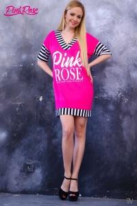 1058 Tunika Pink Rose