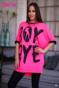 1074 Tunika Pink Rose